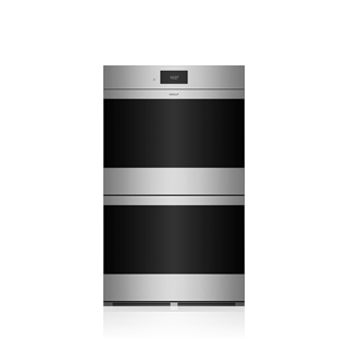 "Wolf 30"" M Series Contemporary Stainless Steel Built-In Double Oven DO30CM/S"