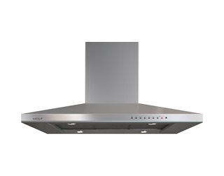 "Wolf 42"" Cooktop Island Hood - Stainless VI42S"
