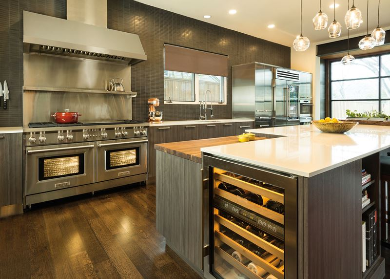 Integrated Living Sub Zero Wolf And Cove Kitchens