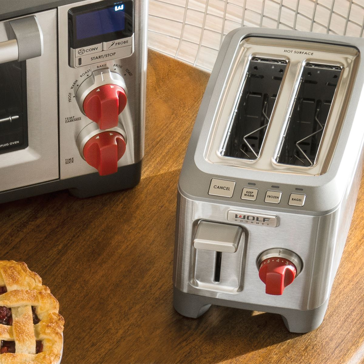 Countertop Oven Wolf : Two Slice Toaster