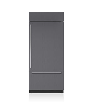 "Sub-Zero 36"" Classic Over-and-Under Refrigerator/Freezer with Internal Dispenser - Panel Ready BI-36UID/O"
