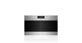 "Wolf  30"" M Series Contemporary Stainless Steel Convection Steam Oven with Retractable Handle CSO30CM/S"