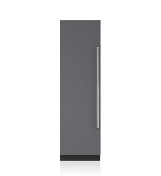 "Sub-Zero 24"" Designer Column Freezer with Ice Maker - Panel Ready IC-24FI"