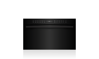 "Wolf 30"" E Series Contemporary Speed Oven SPO30CM/B/TH Shown with optional Black Handle Accessory"