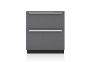 "Sub-Zero 30"" Designer Refrigerator and Freezer Drawers with Ice Maker - Panel Ready ID-30CI"