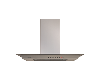 "Wolf 36"" Cooktop Wall Hood - Glass VW36G"