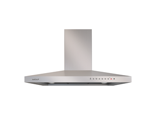 "Wolf 36"" Cooktop Wall Hood - Stainless VW36S"