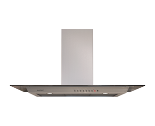 "Wolf 45"" Cooktop Wall Hood - Glass VW45G"