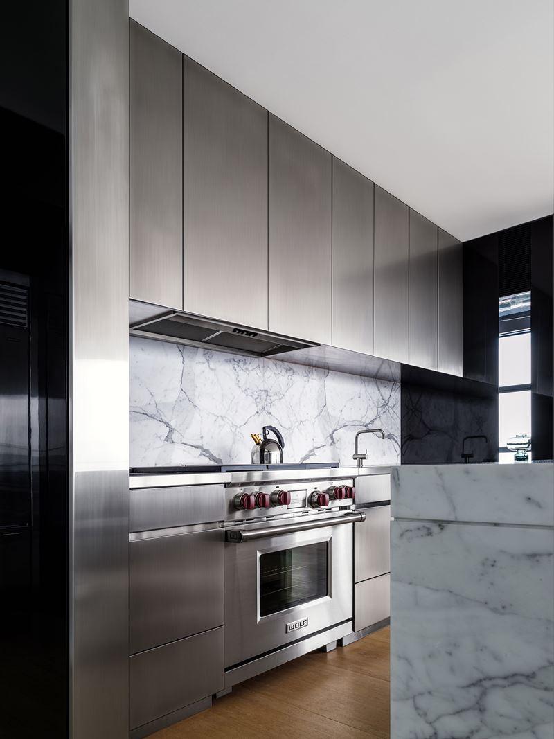 Lumiere Penthouse   Sub-Zero, Wolf, and Cove Kitchens