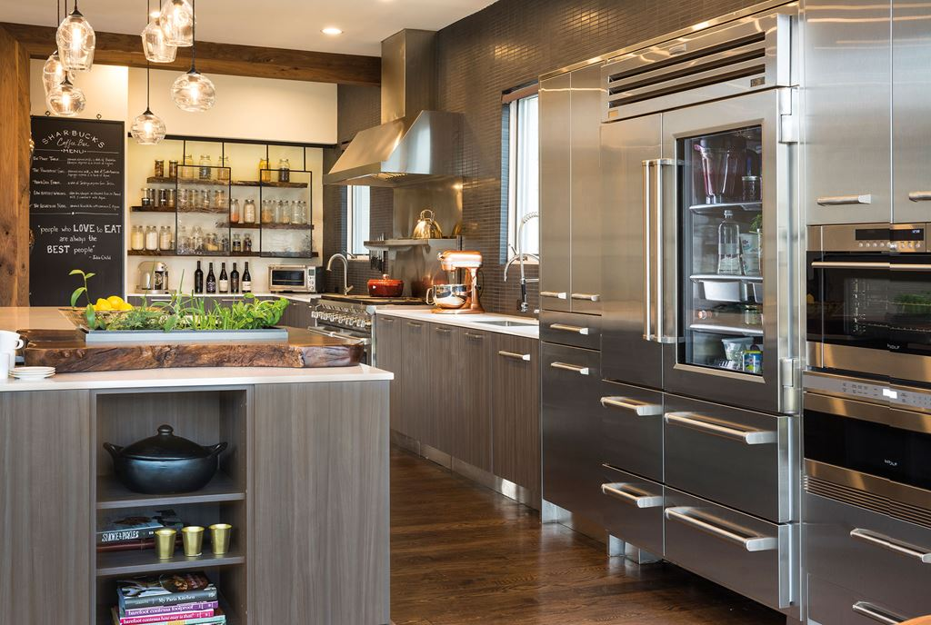 Integrated Living Sub Zero Wolf Et Cove Kitchens